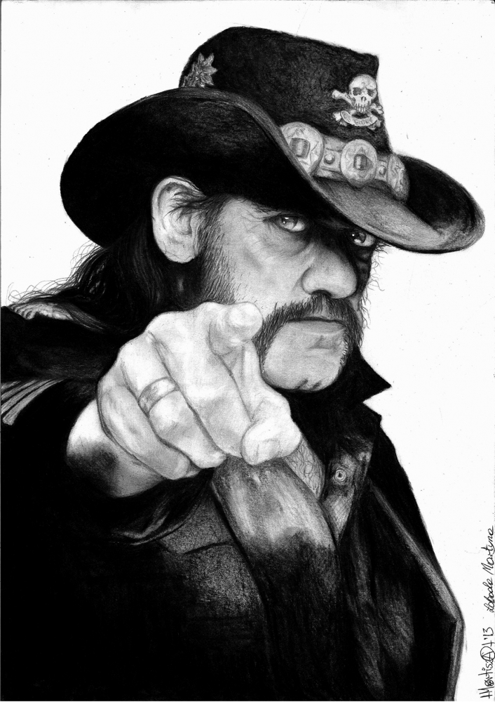 Lemmy Kilmister by Mortisha